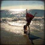 Beach Cartwheels