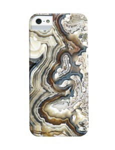 Blue Agate Photograph Mobile Phone Case